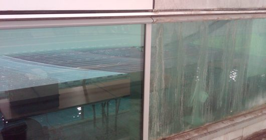 window cleaning before and after