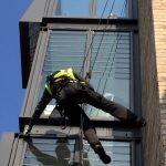 abseiling window cleaning